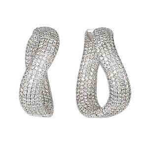 Серьги с бриллиантами 151656
