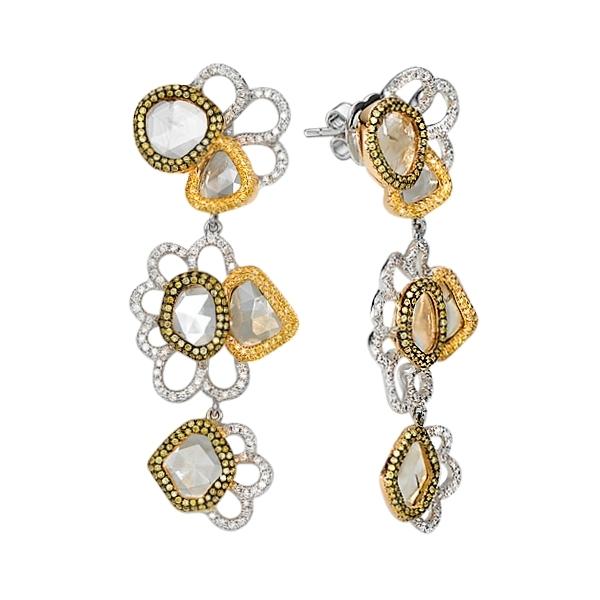 Серьги с бриллиантами 158072М