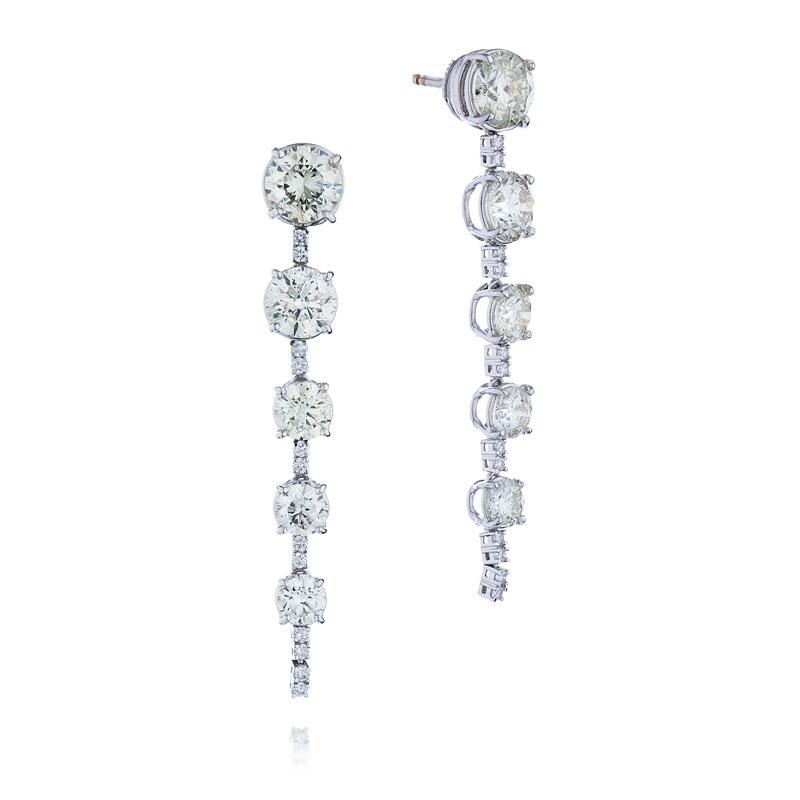 Серьги с бриллиантами 158774С