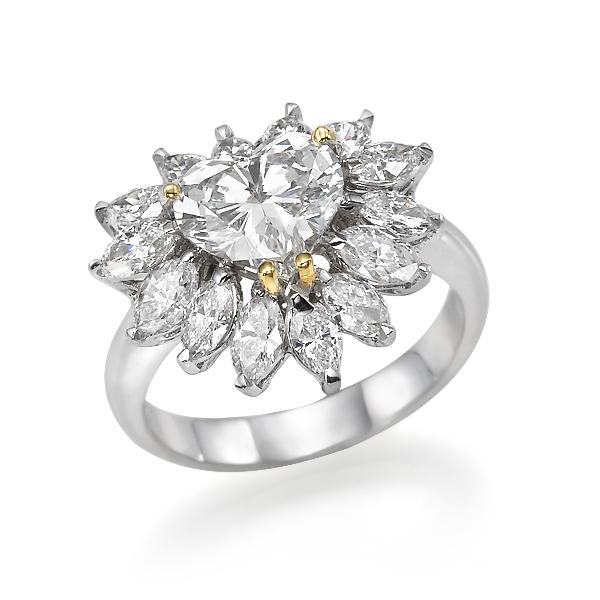 Кольцо с бриллиантами 158785