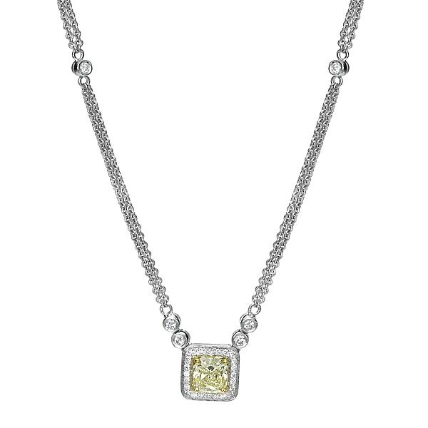 Кулон с бриллиантами 165604С