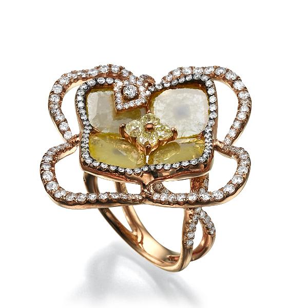 Кольцо с бриллиантами 167330