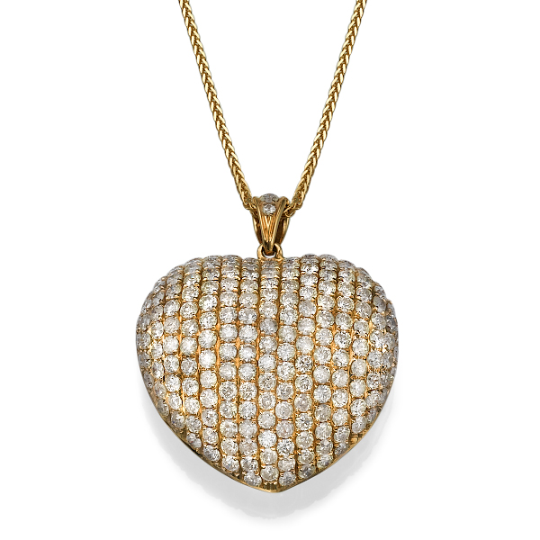 Кулон с бриллиантами 170984M