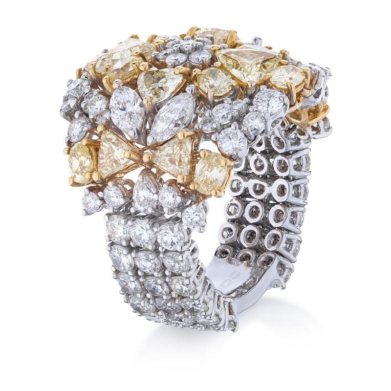 Кольцо с бриллиантами 172728C