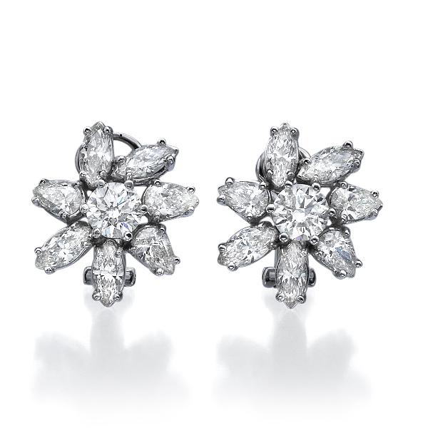 Серьги с бриллиантами 174158