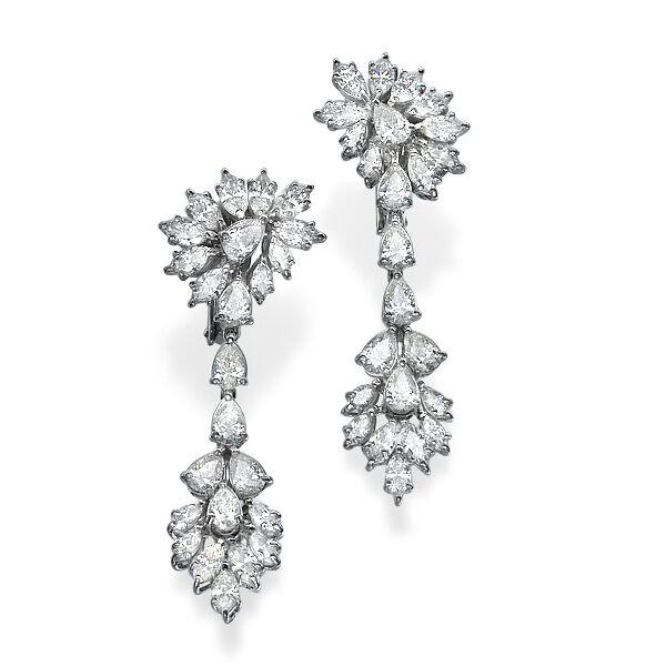 Серьги с бриллиантами 176493