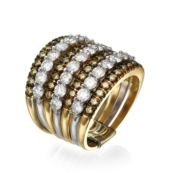 Кольцо с бриллиантами 176603