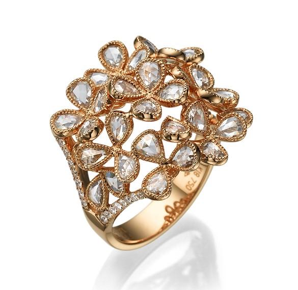 Кольцо с бриллиантами 178013С