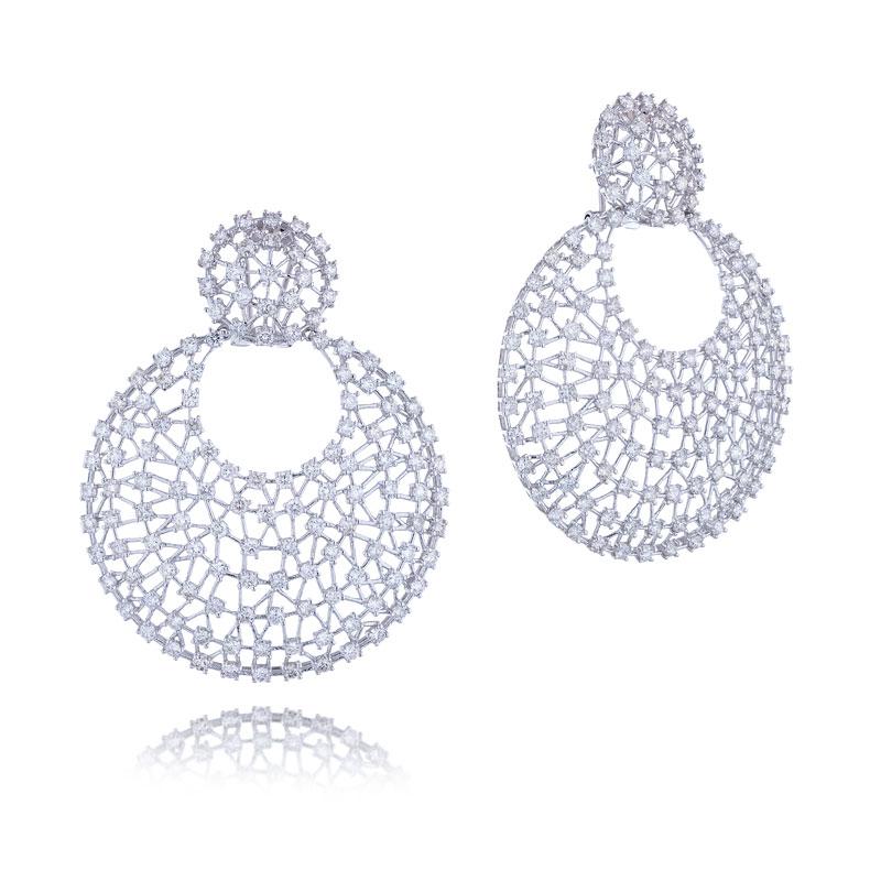 Серьги с бриллиантами 178098С