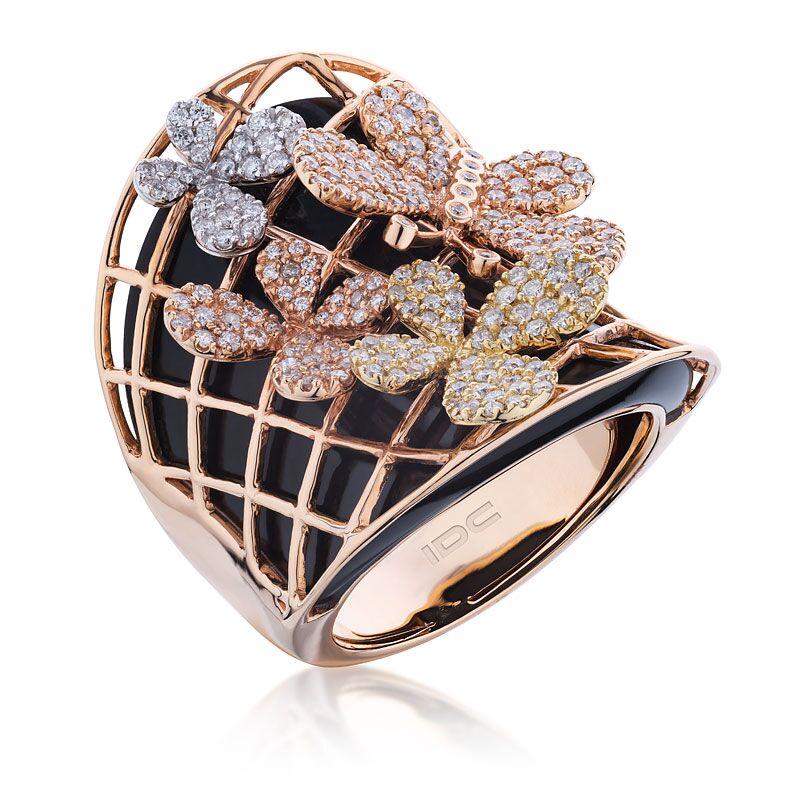 Кольцо с бриллиантами 180523