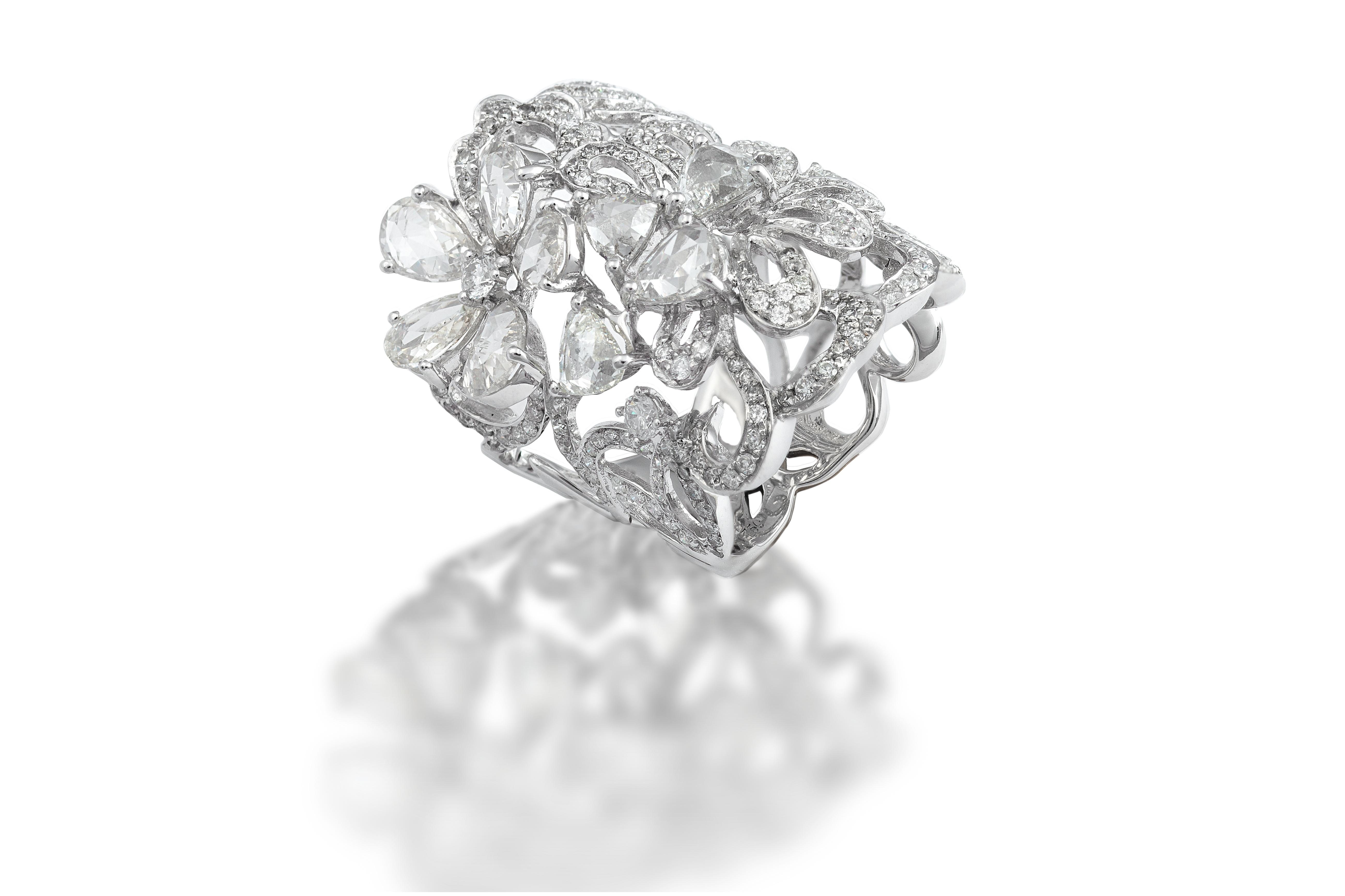 Кольцо с бриллиантами 181163M