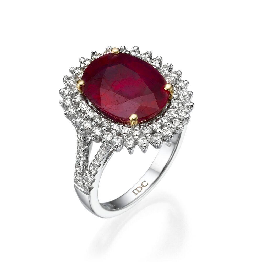 Кольцо с рубином 183257