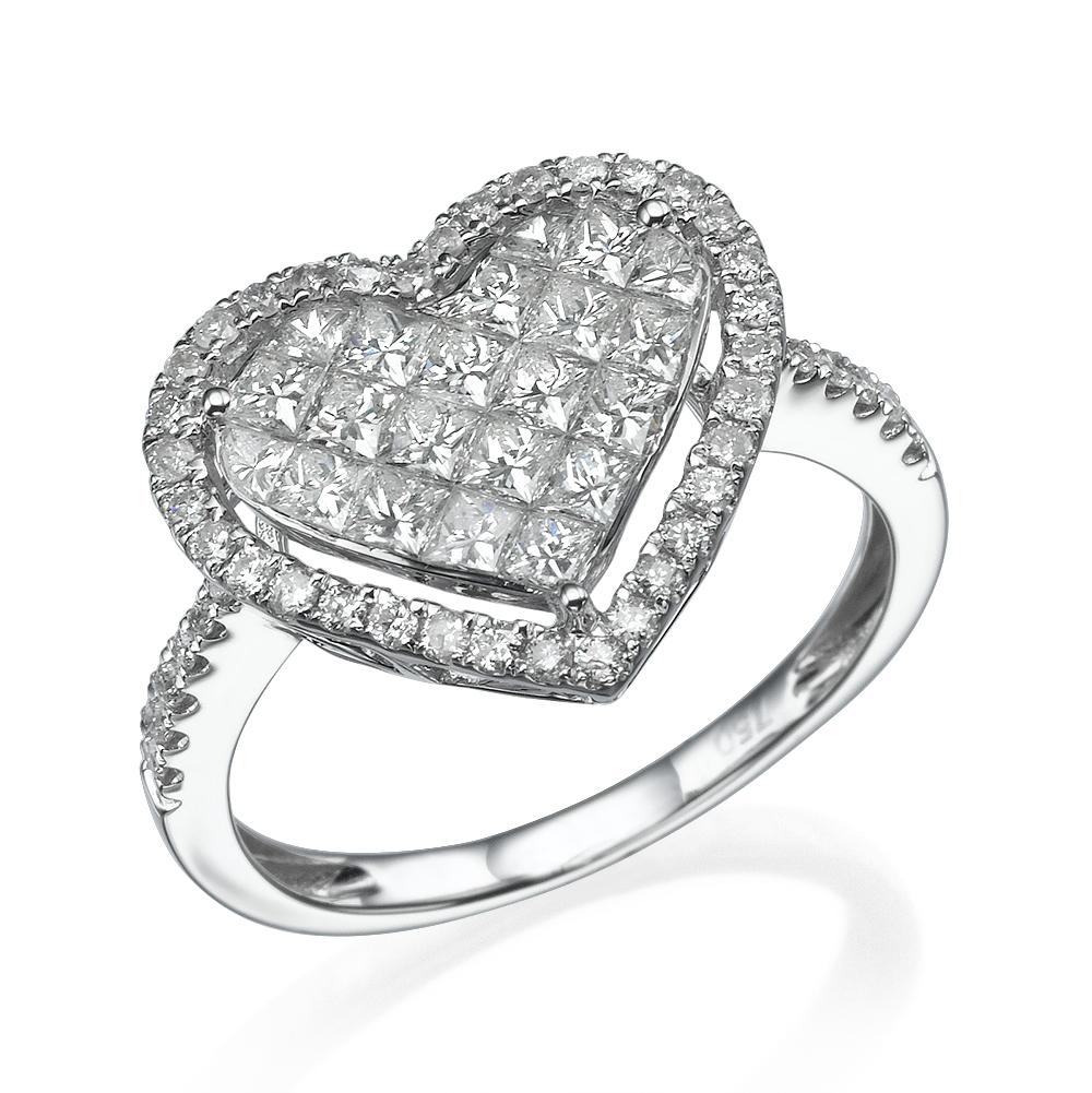 Кольцо с бриллиантами 186254M