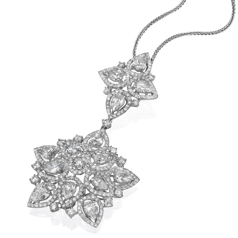 Кулон с бриллиантами 189770