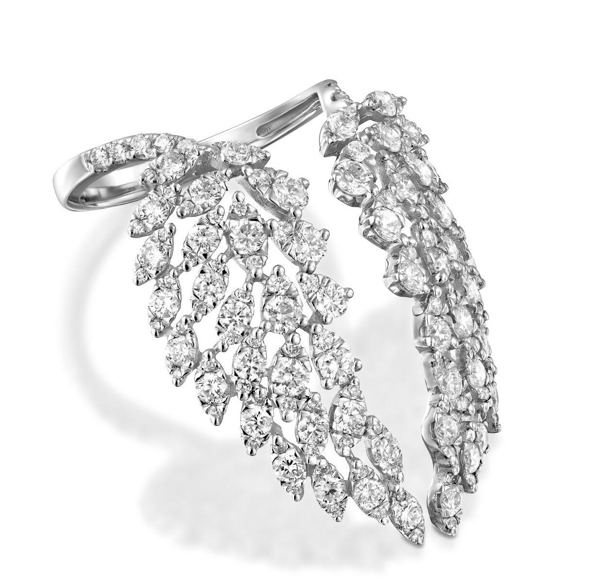 Кольцо с бриллиантами 193487