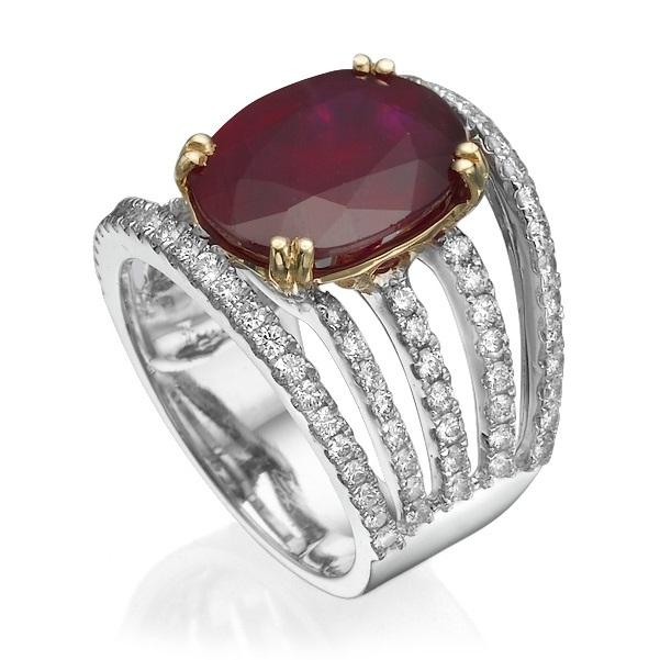 Кольцо с рубином 183261