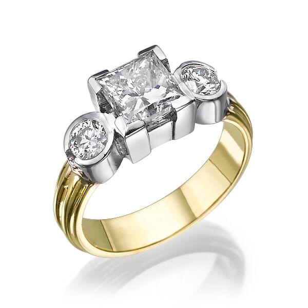 Кольцо с бриллиантами 166943