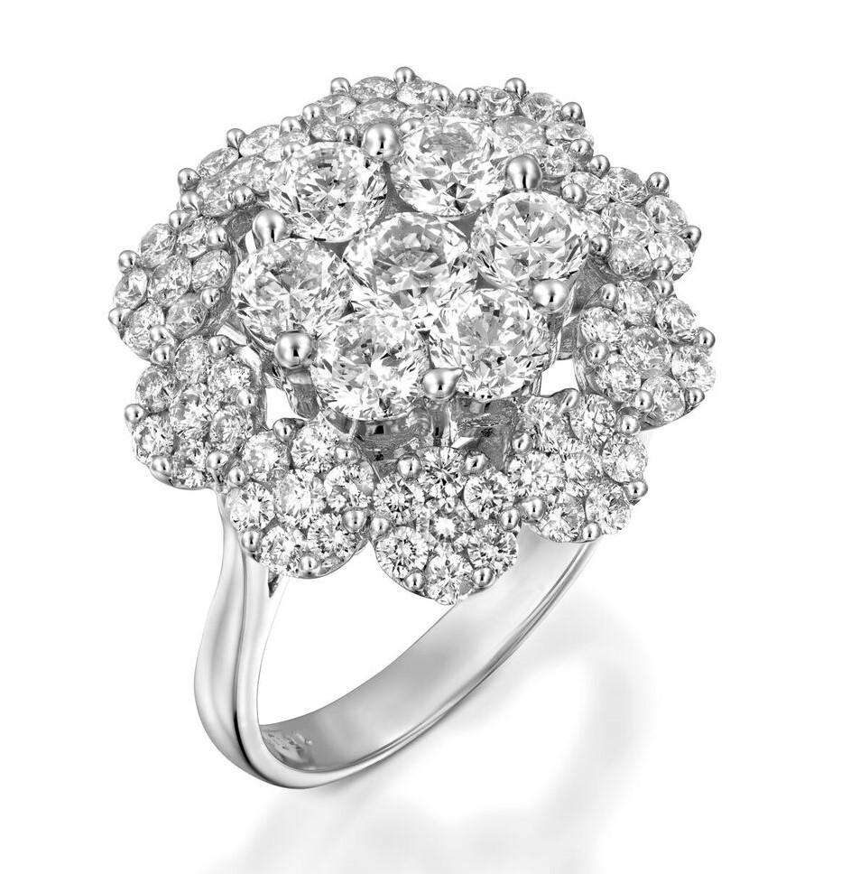 Кольцо с бриллиантами 192185
